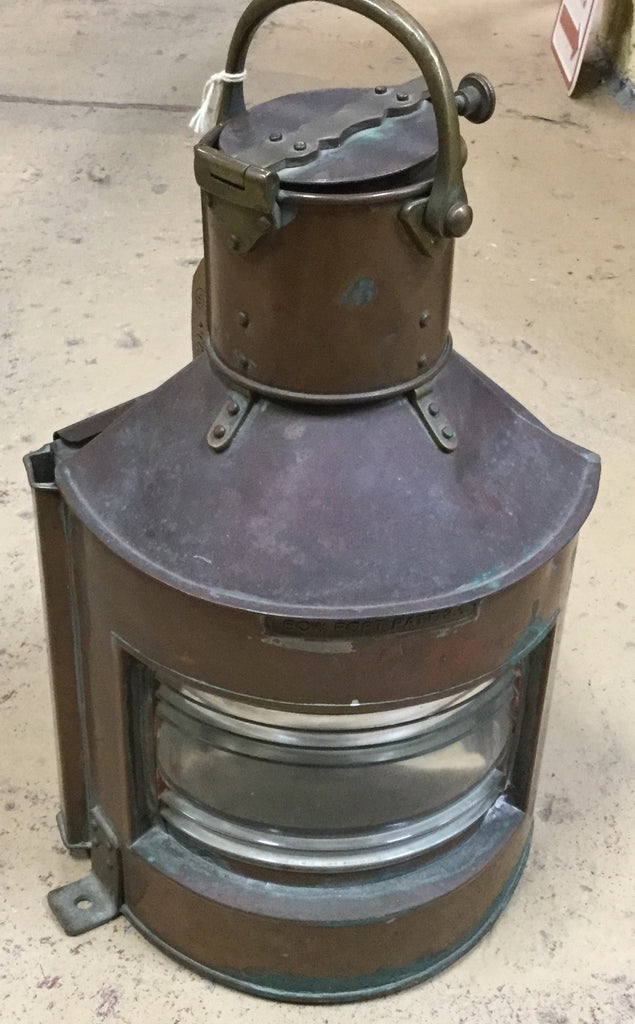 Copper Ship's Lantern