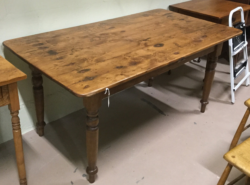 Pine Five Foot Harvest Table