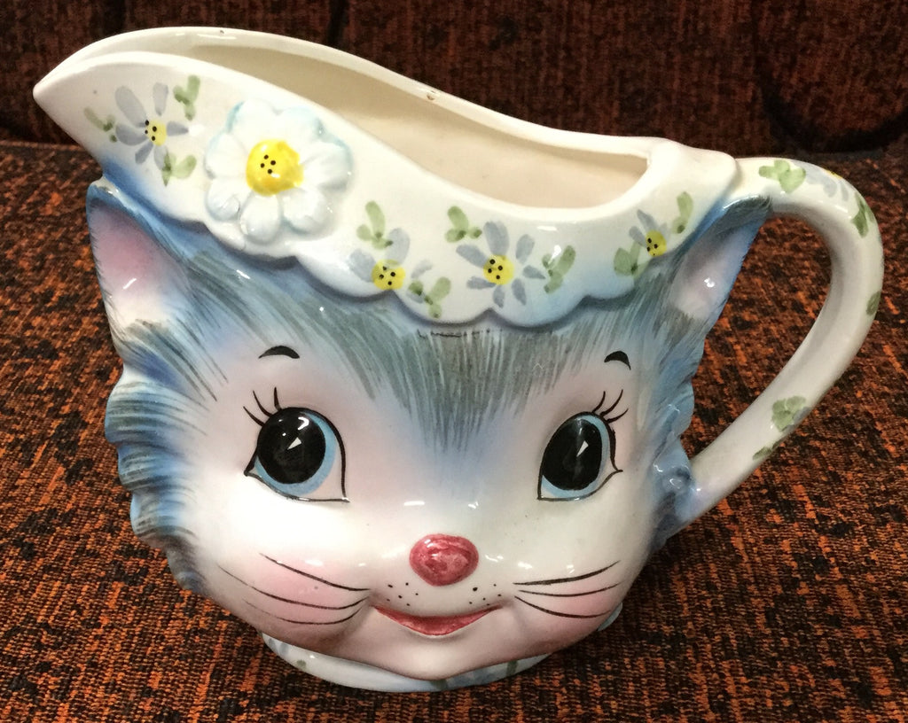 Cat Faced Creamer