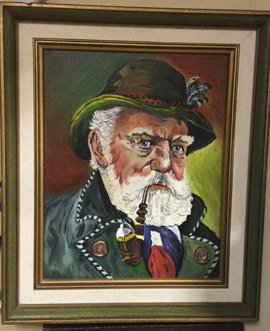 Bavarian Gentleman Oil Painting