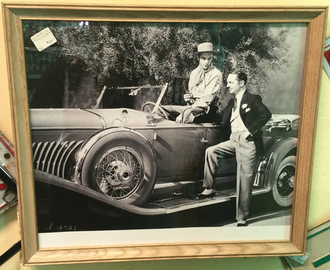 William Powell Gary Cooper Photo Print
