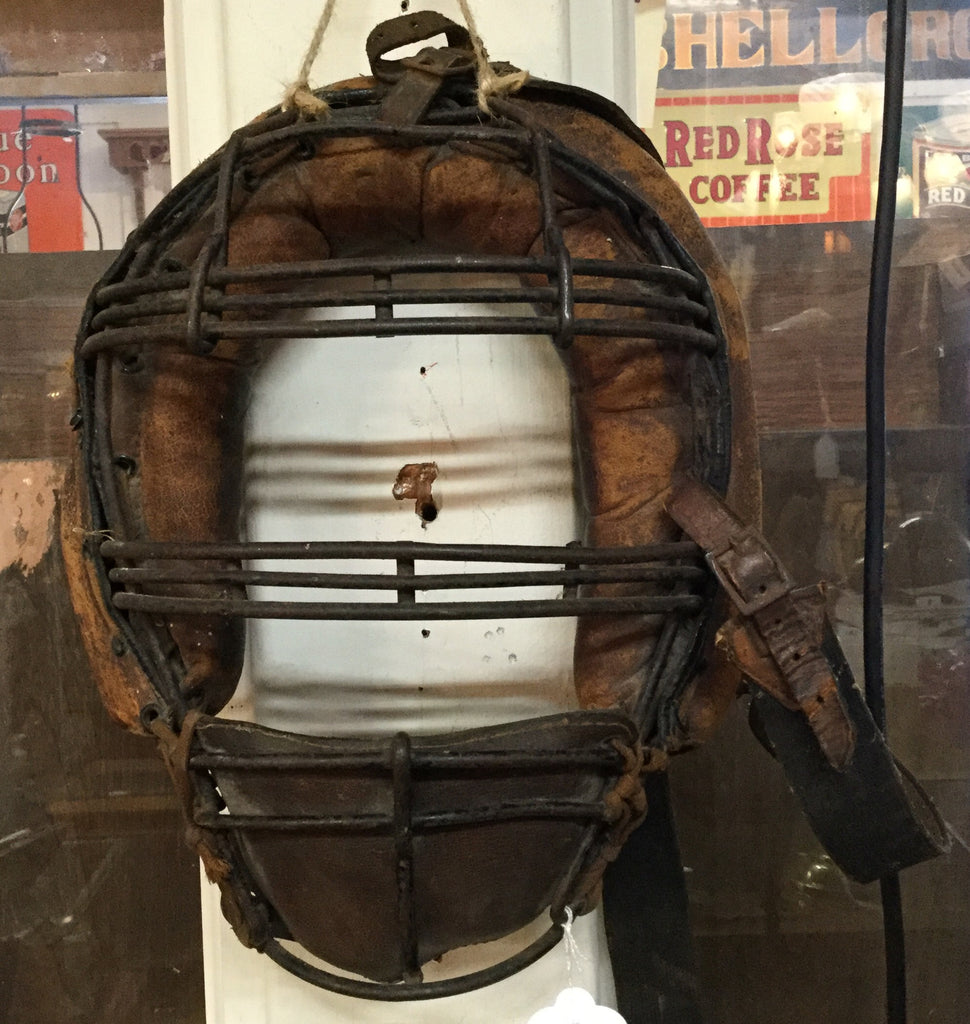 Baseball Catcher's Mask, Early 1900's