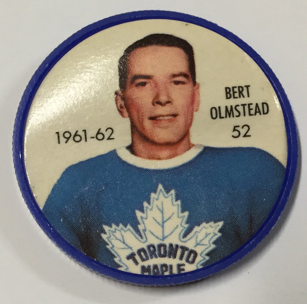 Hockey Plastic Coin, Early 1960's