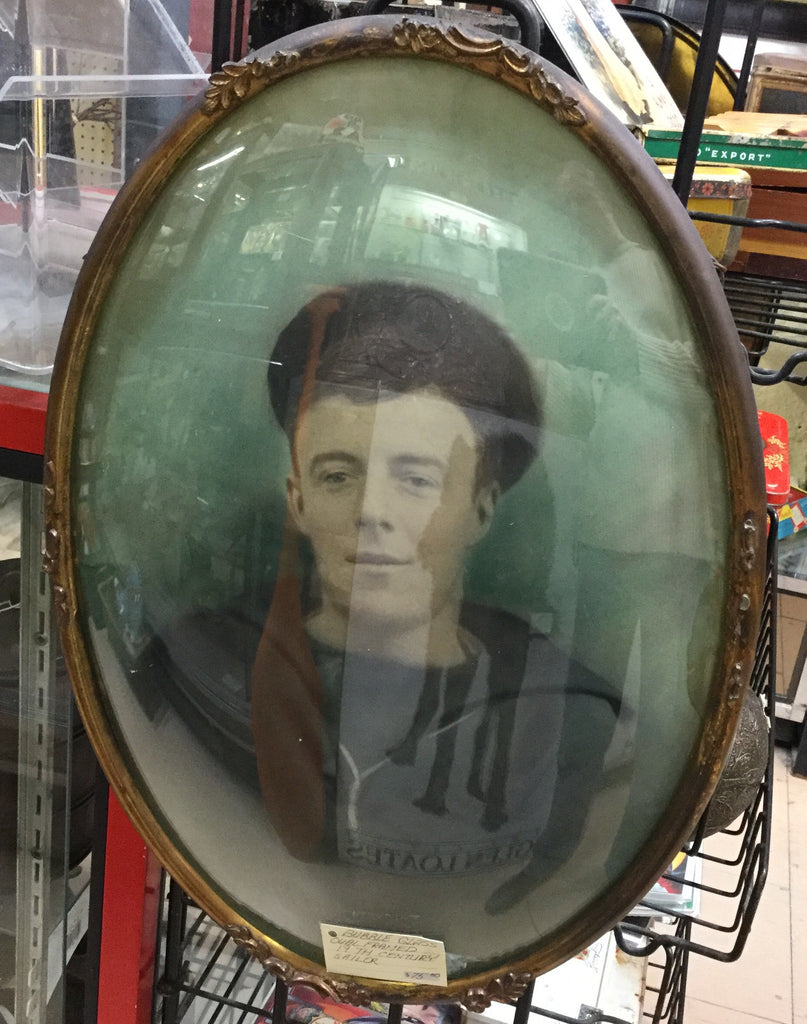 Sailor Picture in Convex Glass