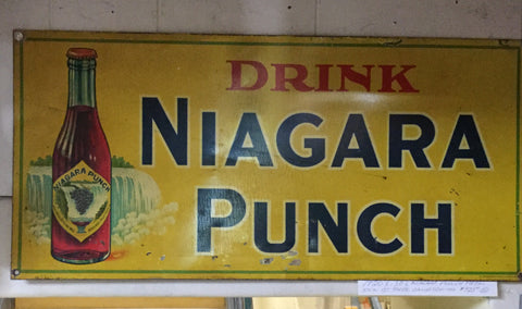Niagara Punch Sign