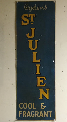 Ogden's St. Julien Tobacco Sign