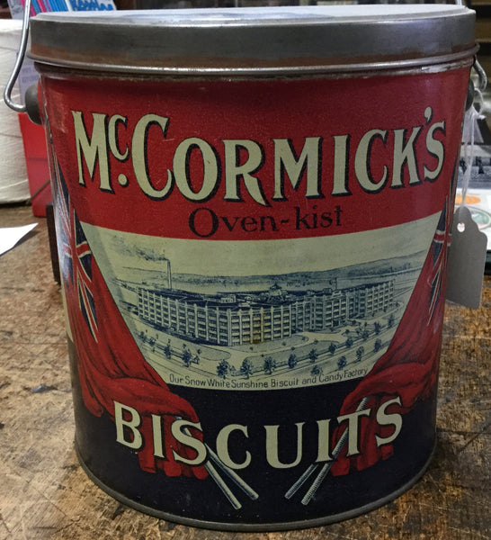 McCormick's Biscuit Tin
