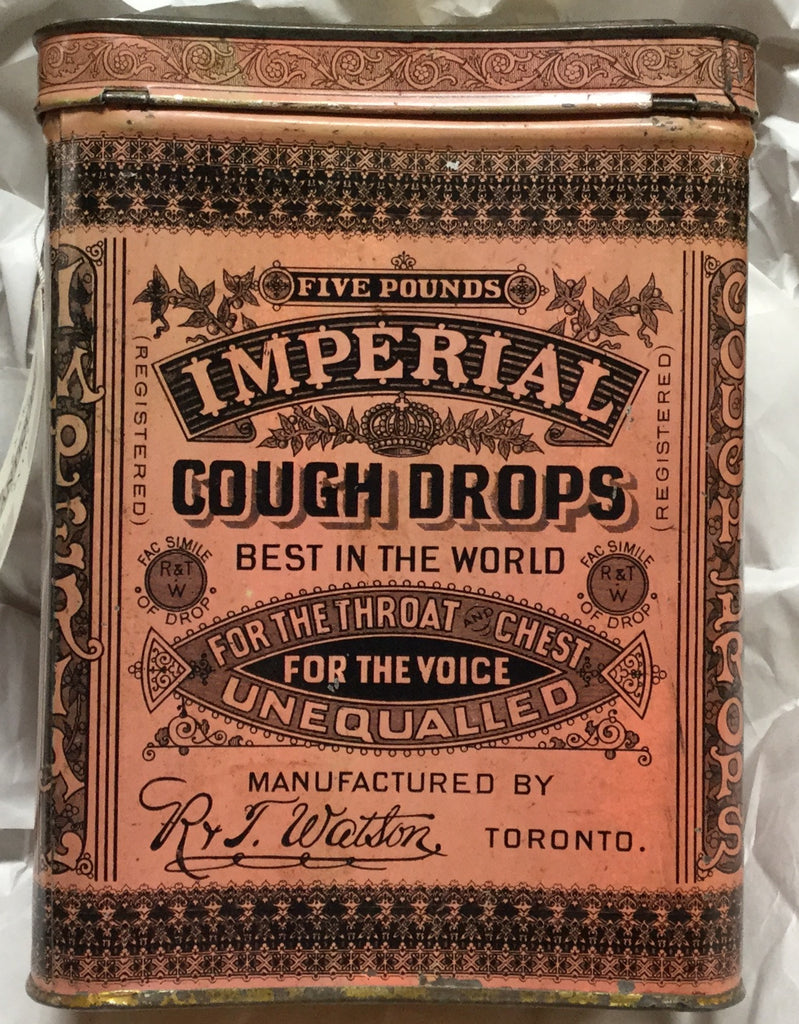 Imperial Cough Drops Tin