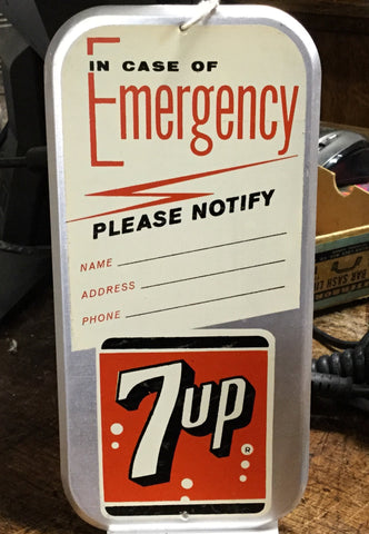 7-Up Push Plate
