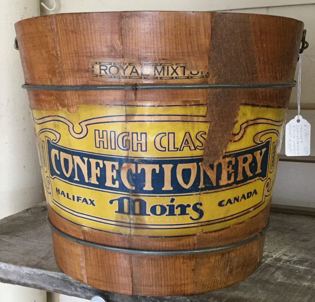 Moirs Confectionary Display Bucket
