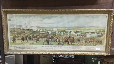Battle of Modder River Print