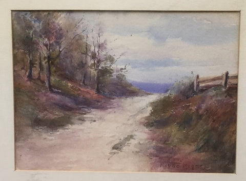 Maude Magee Watercolour Country Lane
