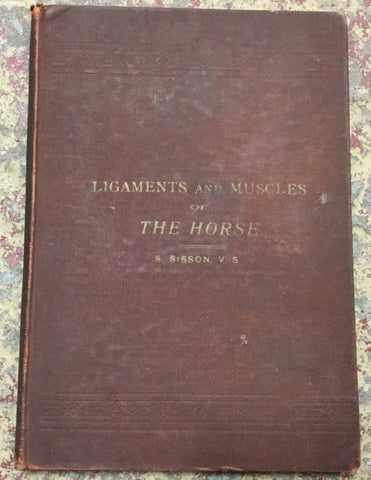 Ligaments and Muscles of the Horse Book