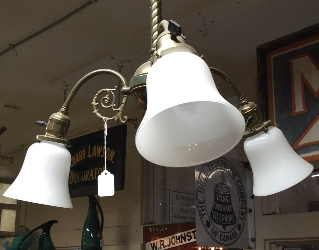 Three Arm Hanging Light