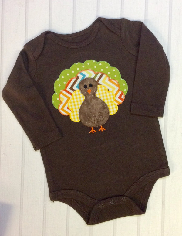 Brown Turkey Onesie/Bodysuit