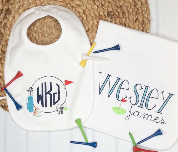 Wesley Personalized Baby Gift Set