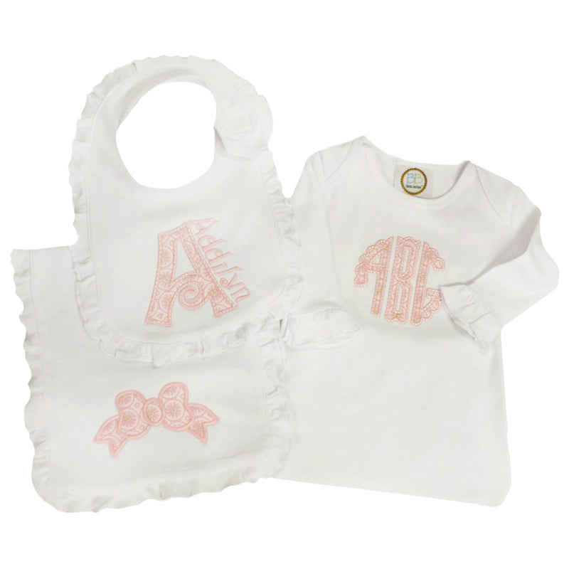 'Addilyn' Personalized Baby Gift Set