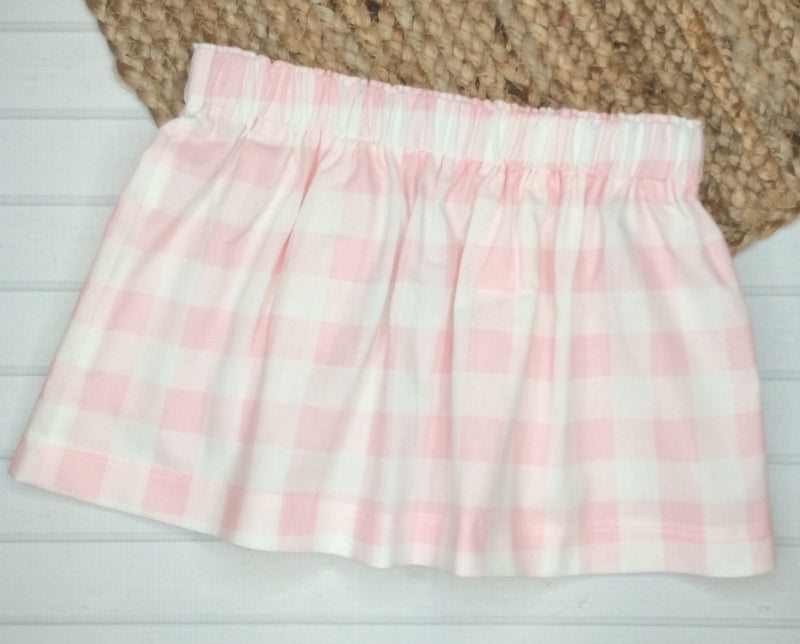 Girls Basic Handmade Skirt