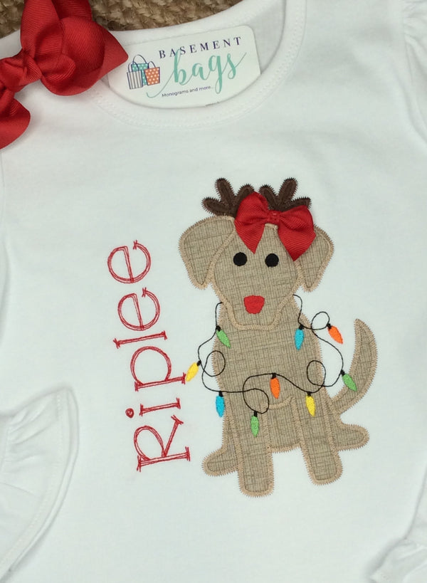 Reindeer Puppy Shirts