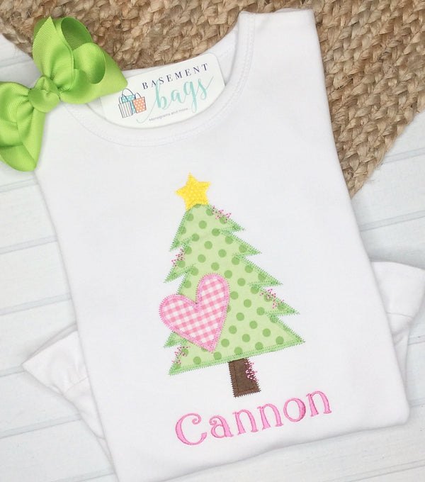Heart Christmas TreeTee Shirt