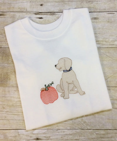 Dog & Pumpkin Shirt