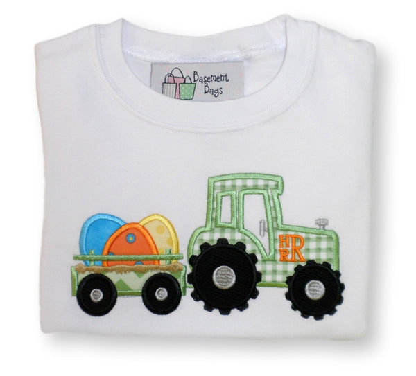 Easter Egg Tractor Shirt