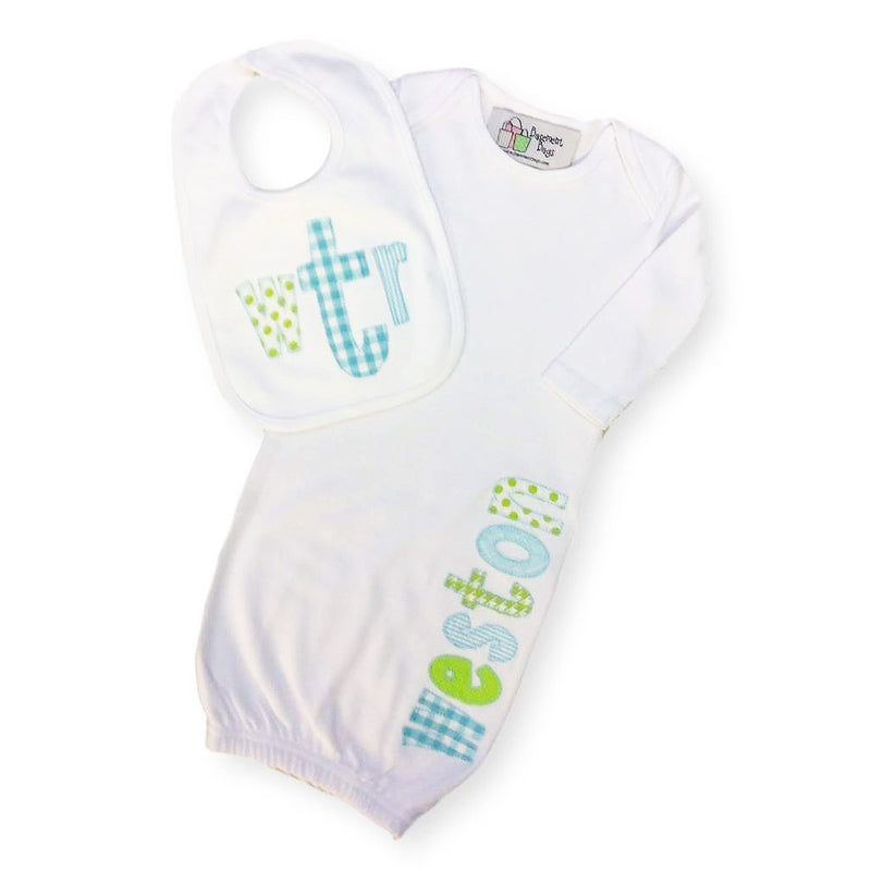 'Weston' Personalized Baby Gift Set