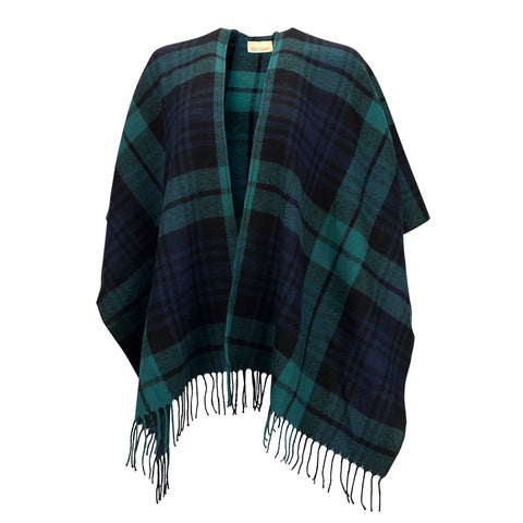 Kennedy Plaid Shawl