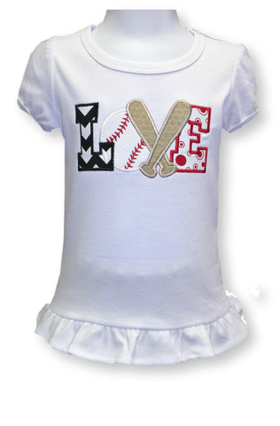 Baseball Love Tee Shirt