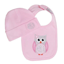 'Hootie Cutie' Personalized Baby Gift Set
