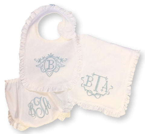 Bonnie Blue Personalized Baby Gift Set