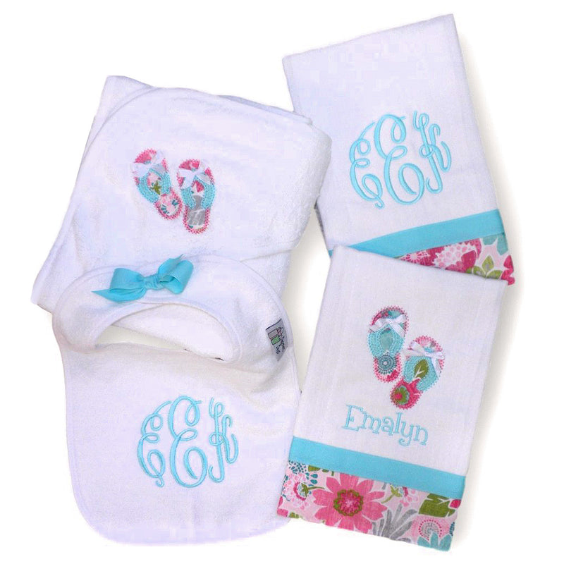 'Emalyn' Personalized Baby Gift Set