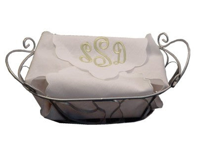 Monogrammed Hot Roll Cover
