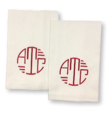 Kitchen Towels with Monogram (Set of 2)