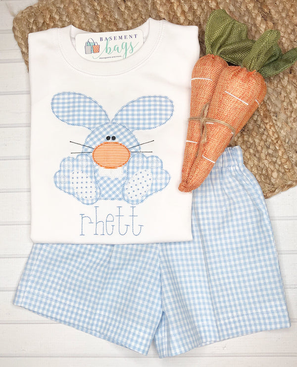 Big Tooth Bunny Boys Shorts Set