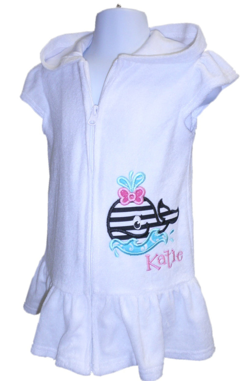 personalized swim coverup