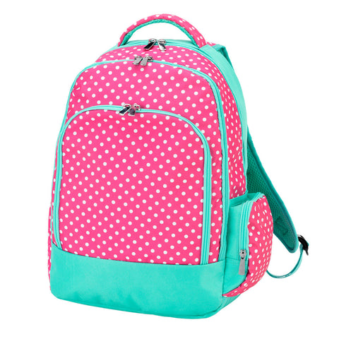 Pink Dottie Backpack