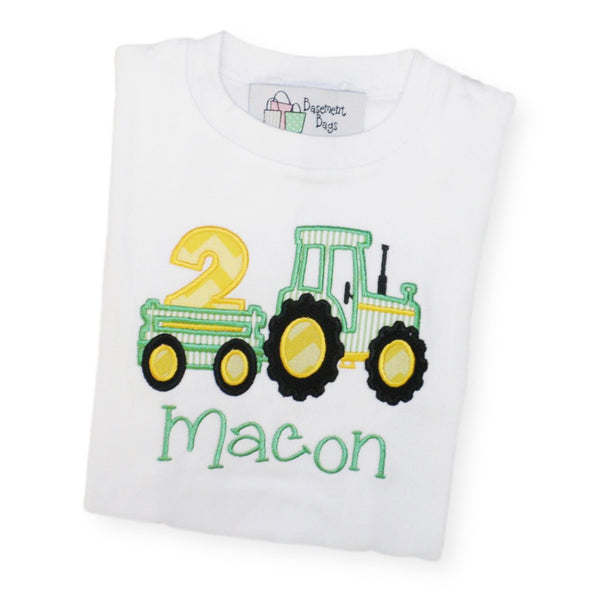 Birthday Tractor Shirt
