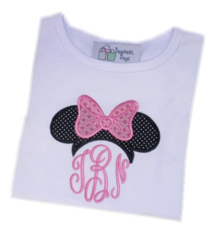 Minnie Monogram Topper Tee