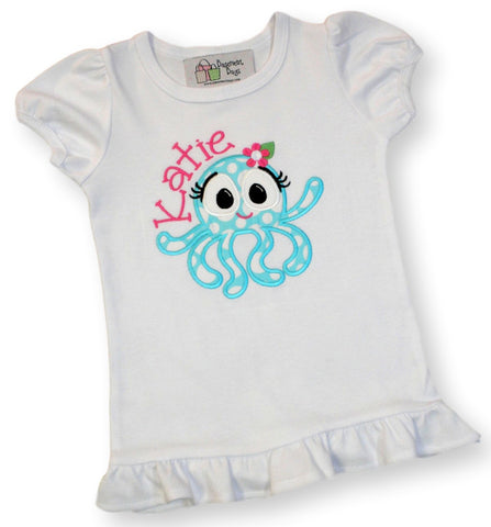 Personalized Octupus tee-shirt