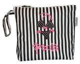 Wet Bikini & Trunks Bag - Stripe