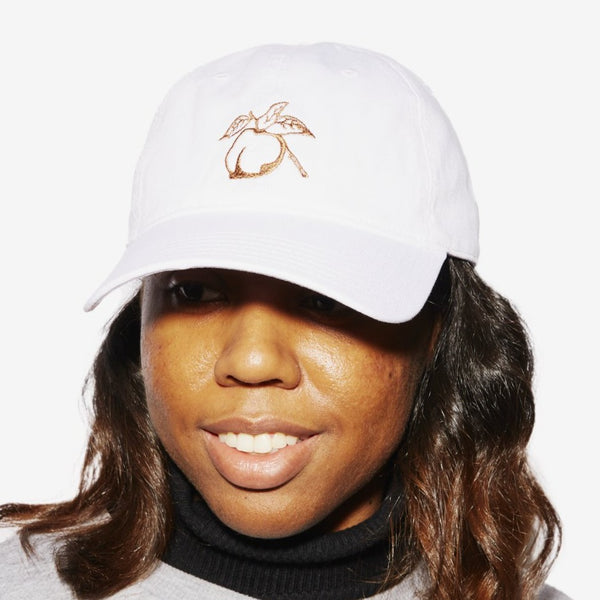 Pit & Easy Hat - White/ Orange