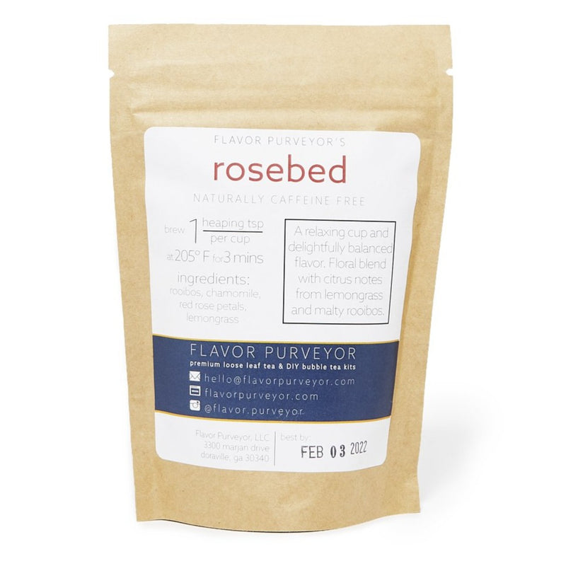 Rosebed Loose Leaf Tea