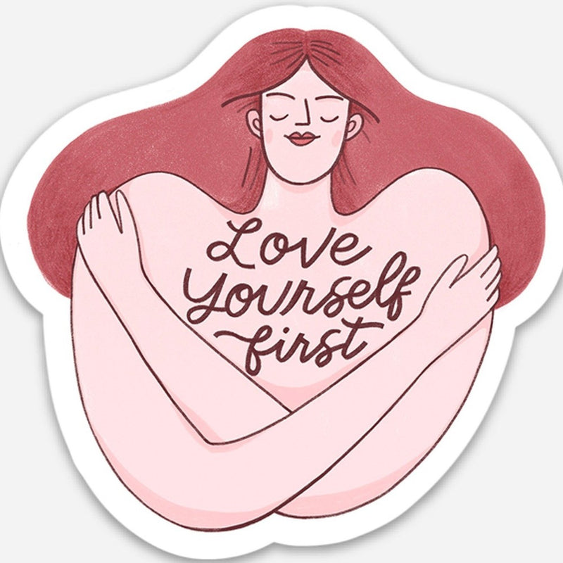 Love Yourself First Sticker