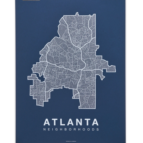 Atlanta City Map