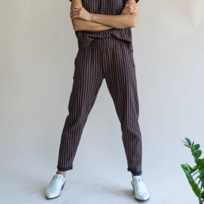 Sequoia Pant Black and Carmel