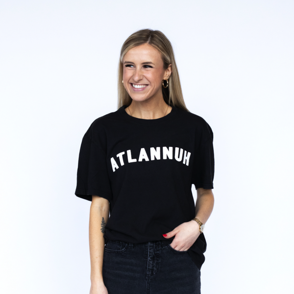 Atlannuh T-Shirt - Black