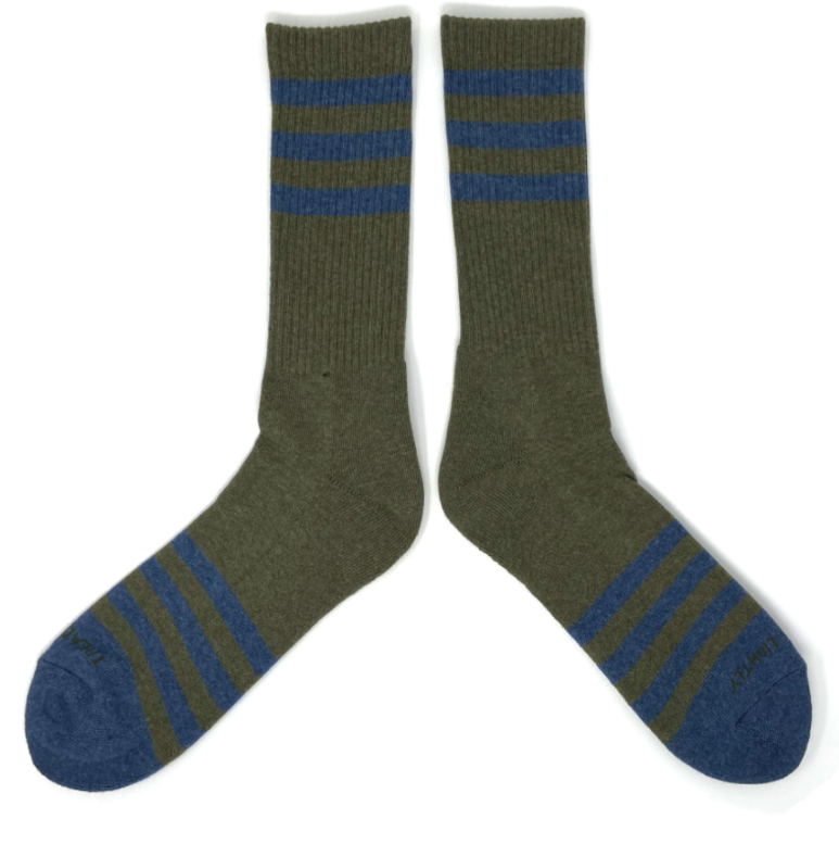 Heather Stripe Socks