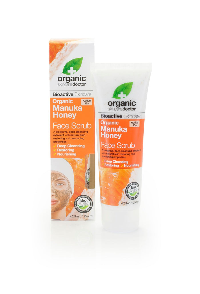 Manuka Honey Face Scrub