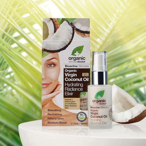 Organic Doctor Virgin Coconut Oil Hydrating Radiance Elixir